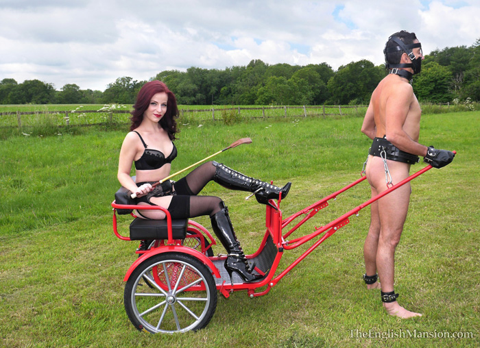 pony-cart-riding-boot-worship-spurs-06